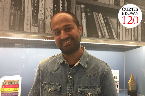 Emad Akhtar, publishing director for Orion Fiction